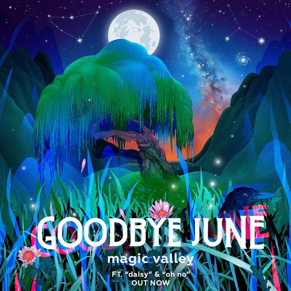 .@GoodbyeJune's all new #MagicValley album is available everywhere https://t.co/egWoQdsYln https://t.co/2SleuehhdK