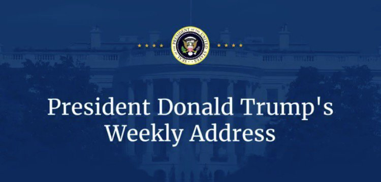 #WeeklyAddress���� https://t.co/4qckKpbtCR