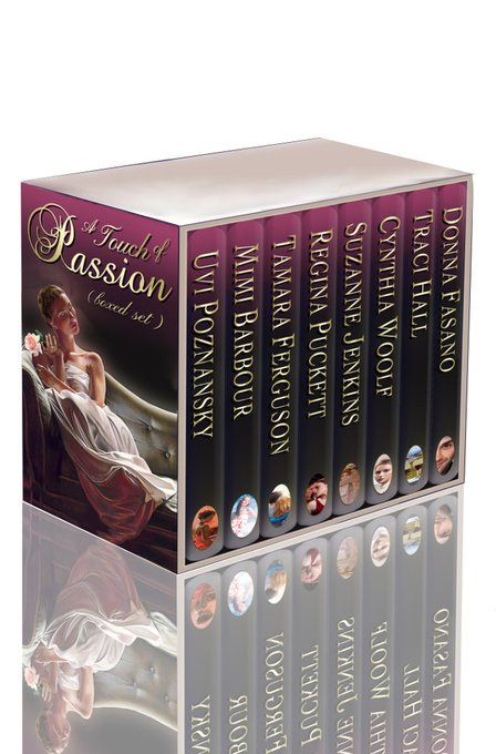 Love Romance? Get  A TOUCH OF PASSION Free Freebie giveaway via bookzio