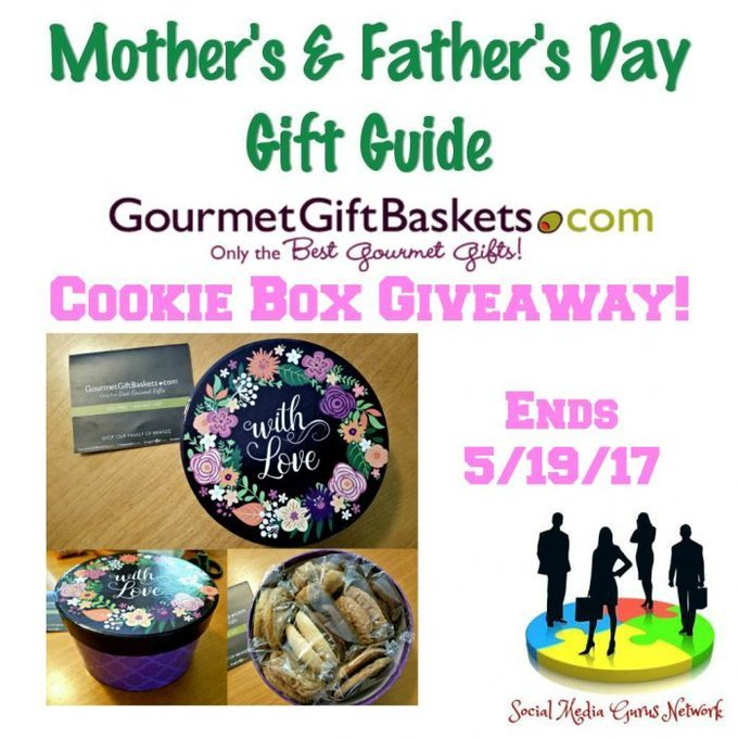 The Cookie Box Giveaway Ends 5/19/17