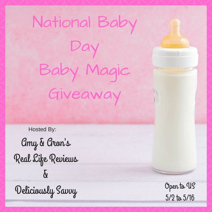 National Baby Day Baby Magic Giveaway Ends 5/16