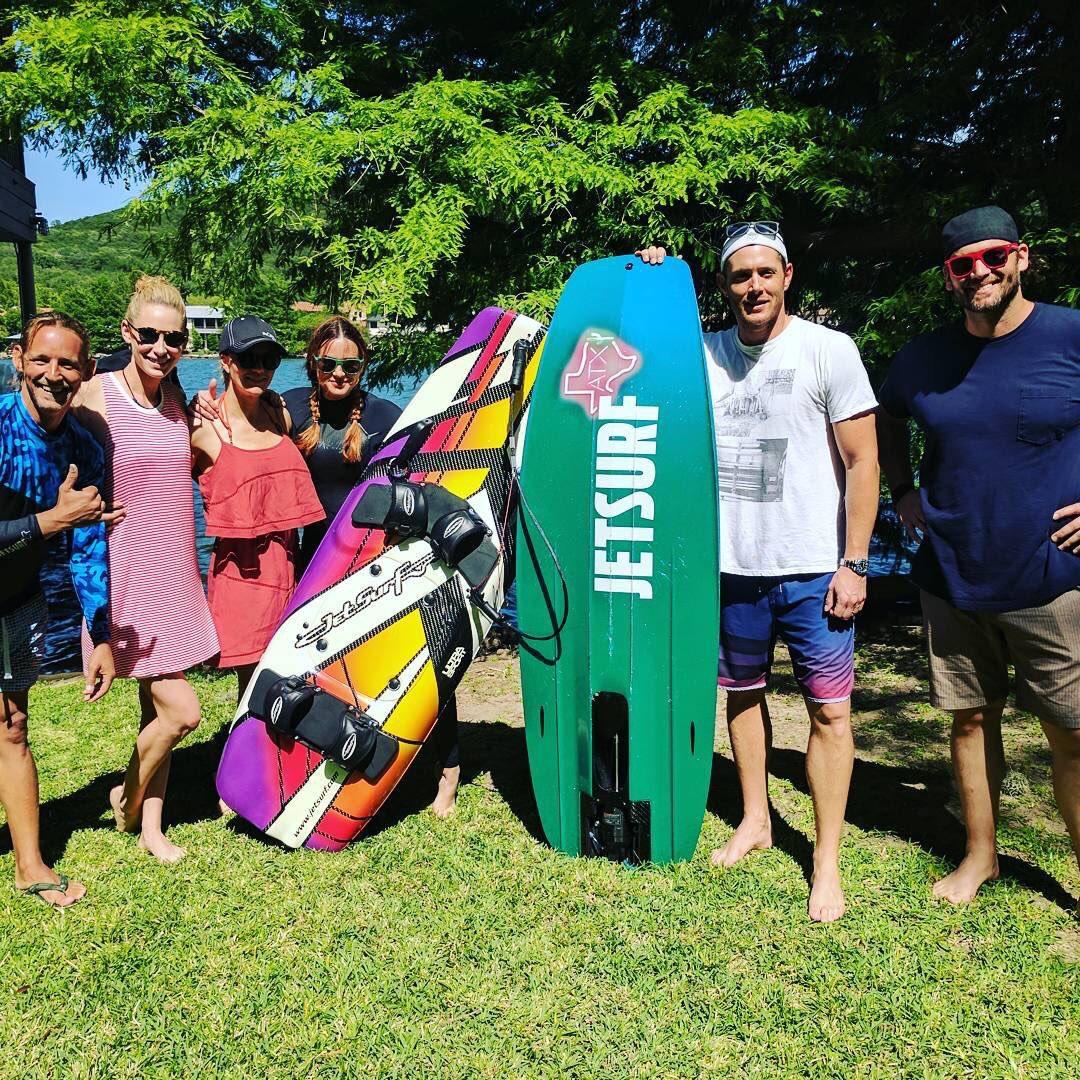 Jensen, Danneel and friends went jet surfing in Austin recently! https://t.co/VpiznFWgAx