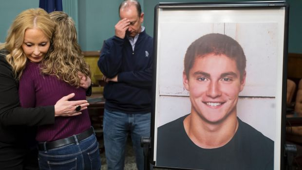 Eighteen college students charged over 'hazing' death at Penn State