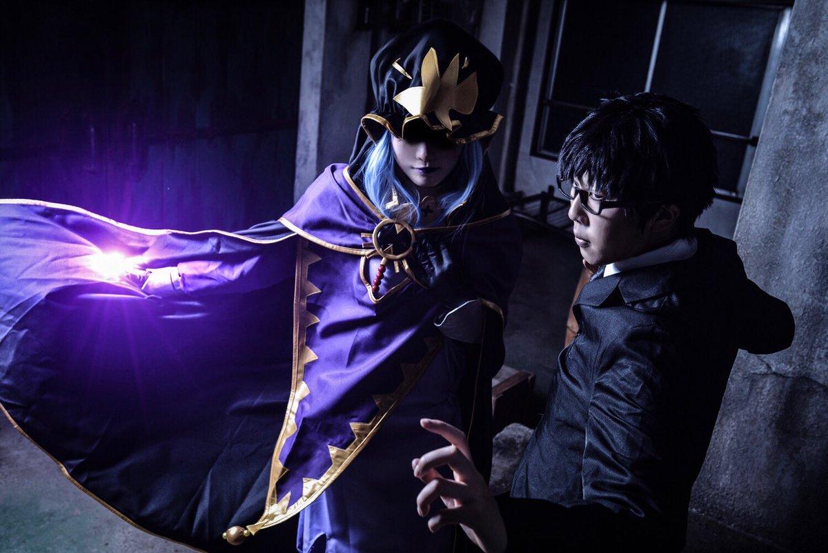 【コスプレ】Fate/stay night葛木宗一郎:睦葵さん( )キャスター(メディア):まおみphoto:ピクミンさ