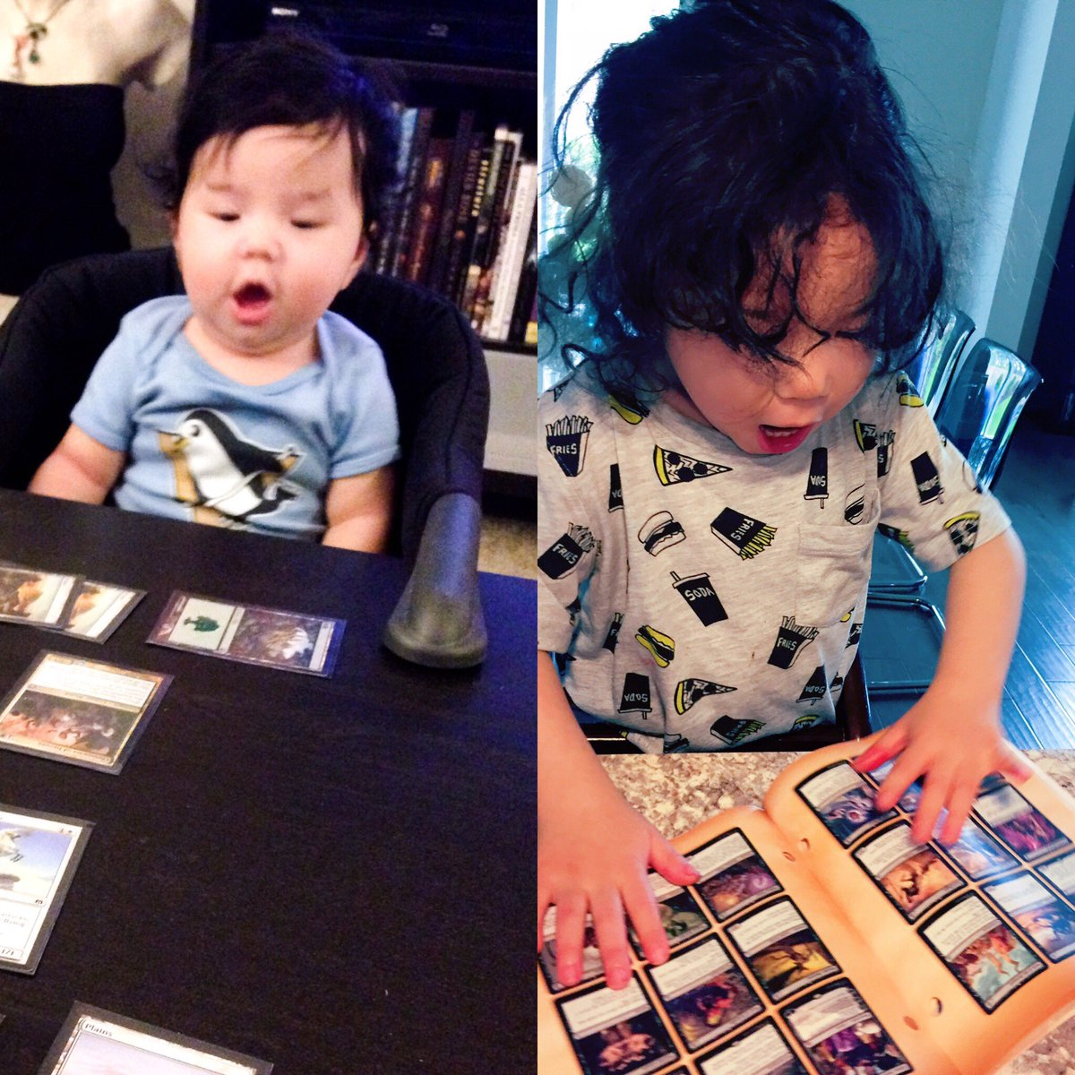 test Twitter Media - Two years later and he still has the same reaction. Top 8 player in the making? #mtg https://t.co/OBM465Ci39