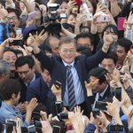Liberal son of war refugees projected to win South Korean presidential vote