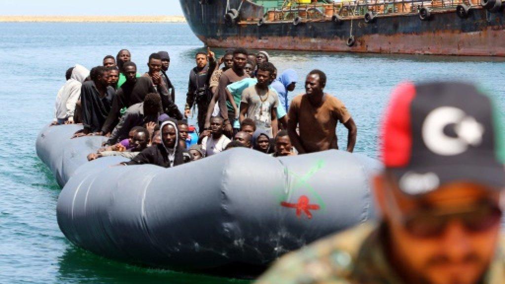 Libya rescues 129 migrants stranded at sea