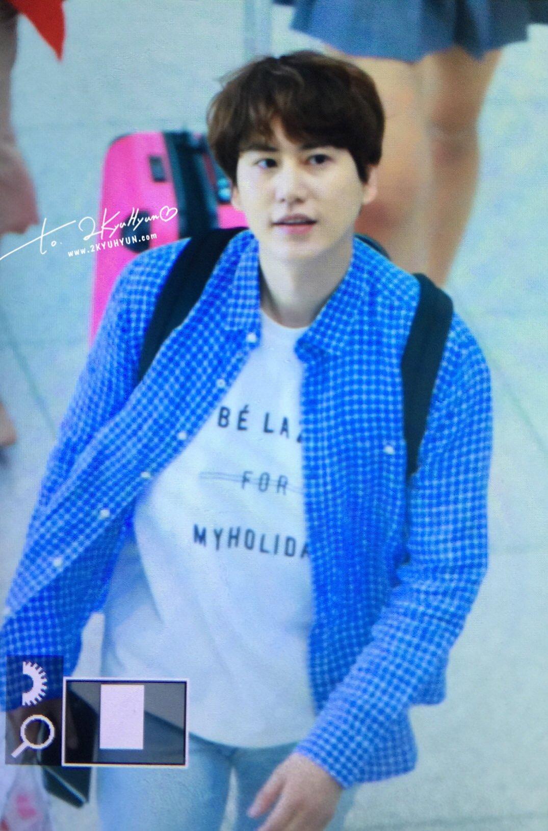 170507 신서유기 인천공항 출국 :) #Kyuhyun at ICN Airport ❤ (7) cr. @2kyuhyun https://t.co/QXaF5NXkXD