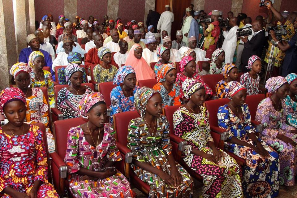 Dozens of Nigerian girls are freed 3 years after Boko Haram kidnapping