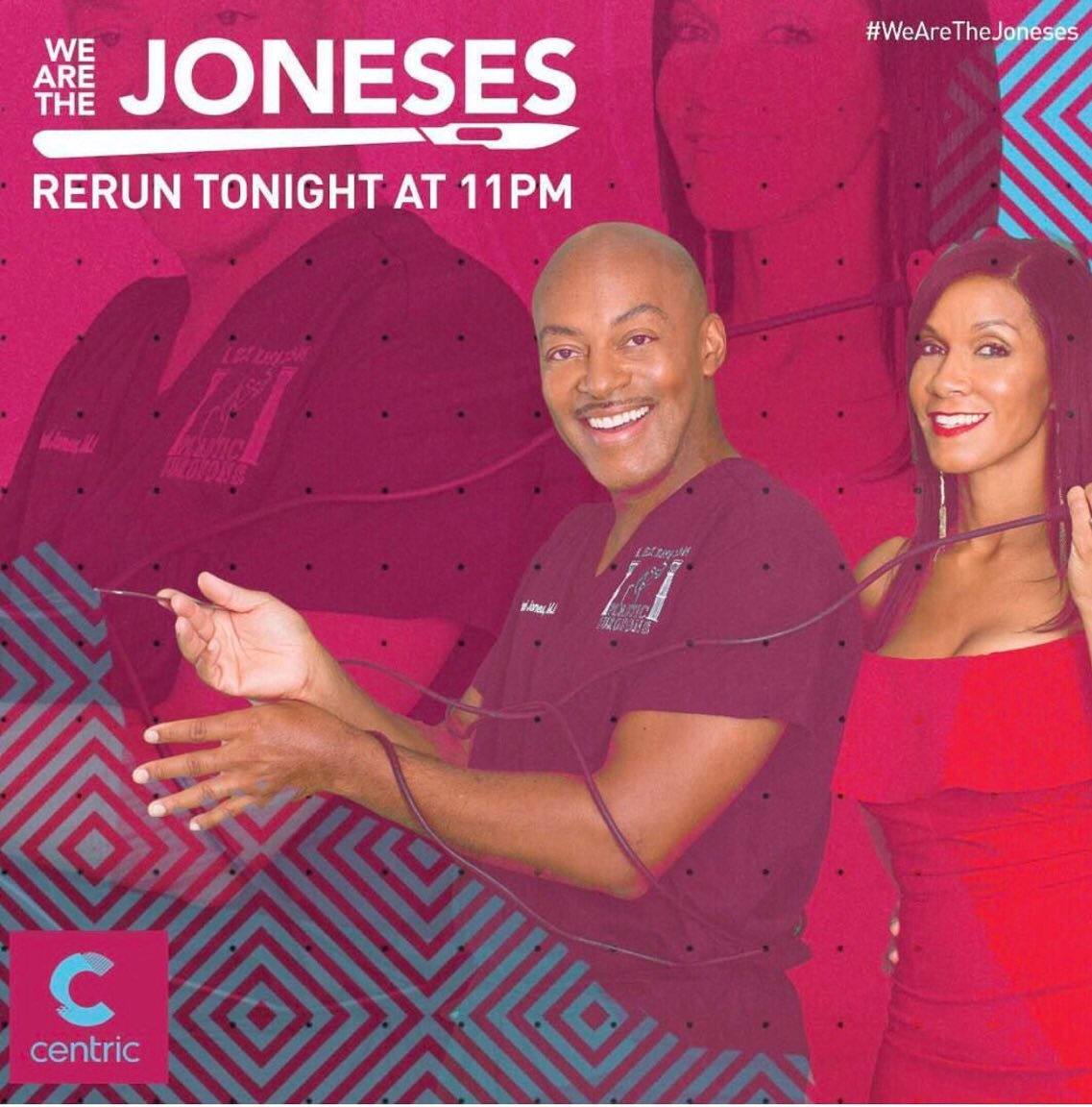 Are you watching @TheJonesesTV right now? East coast catch up tonight at 11/10c on @CENTRICTV! https://t.co/AAsdnhtvsL