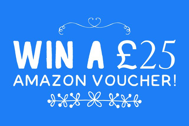 Blog Giveaway: Win a £25 Amazon Voucher