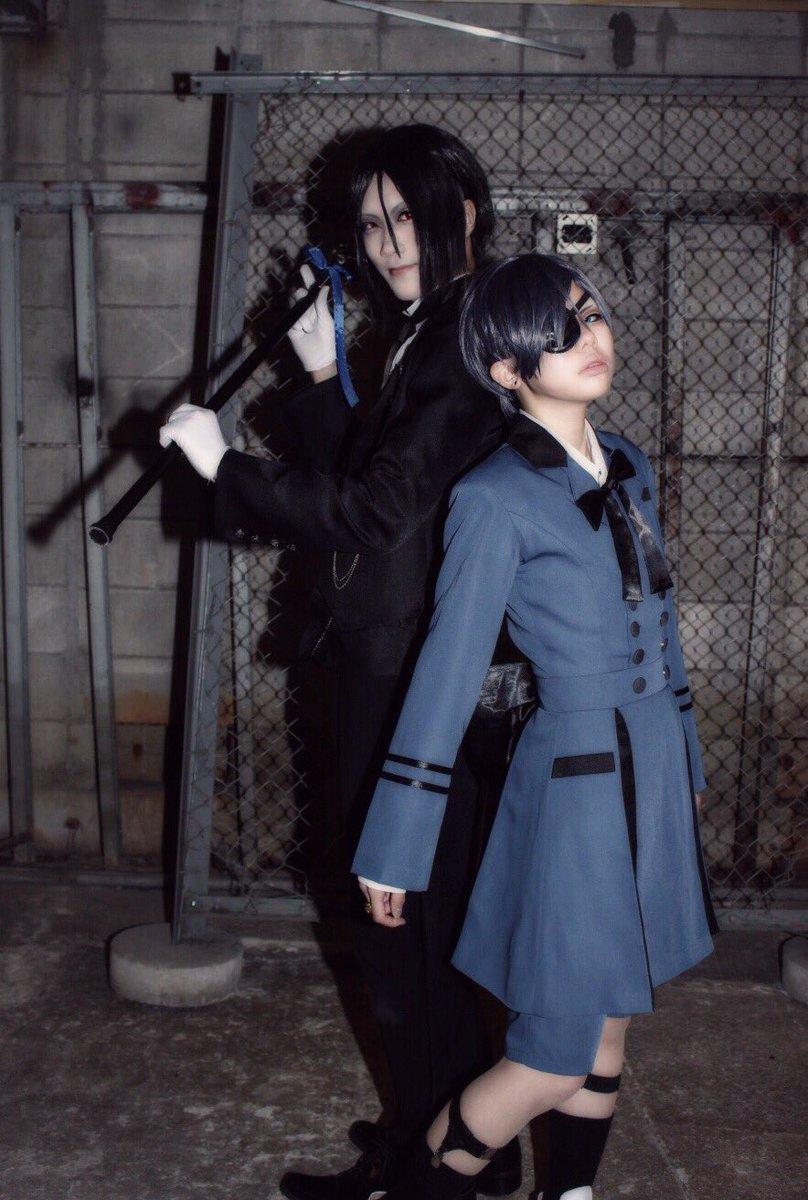 【cos 注意】黒執事 / シエルその執事、その当主、セバスチャン / hikari()photo / GARO()シ