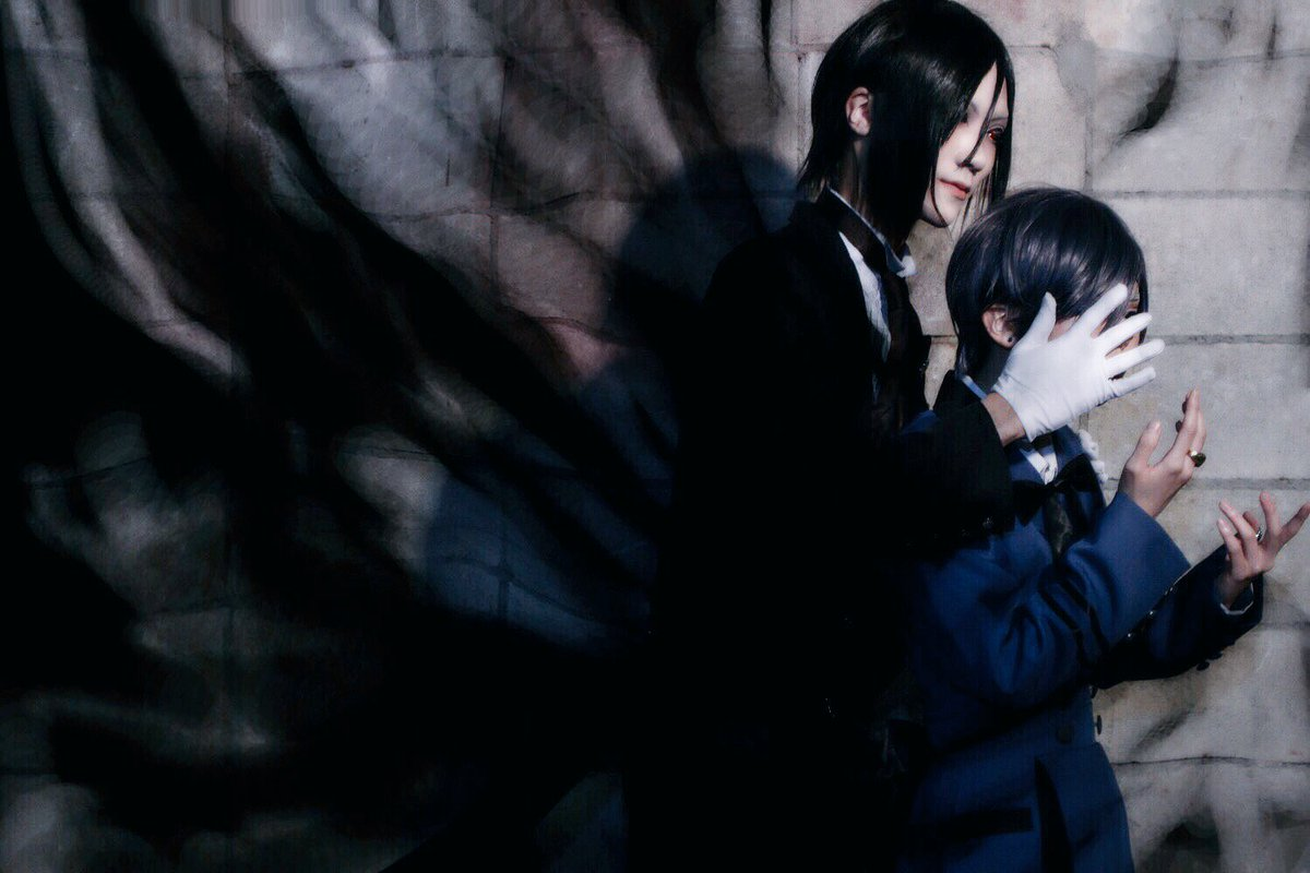 【cos 注意】黒執事 / シエル地獄の果てまで私は  あくまで  執事ですからセバスチャン / hikari()ph