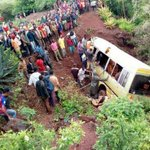 35 killed as bus with students crashes