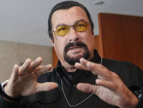 Steven Seagal a threat to Ukraine's national security