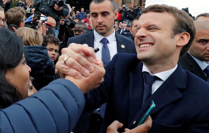Macron clearly leading in French presidential elections: Belgian media