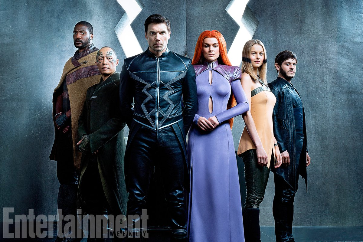 Marvel's @theinhumans finally come to life in this first look!