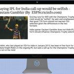 Image of gautam from Twitter