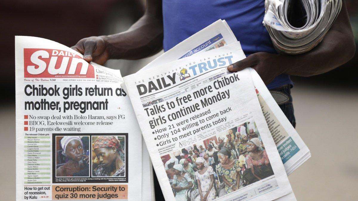 Chibok schoolgirls were swapped for 5 Boko Haram commanders