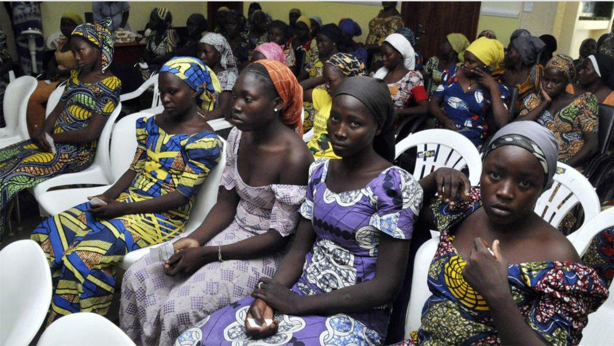 Released Chibok schoolgirls were swapped for 5 Boko Haram commanders