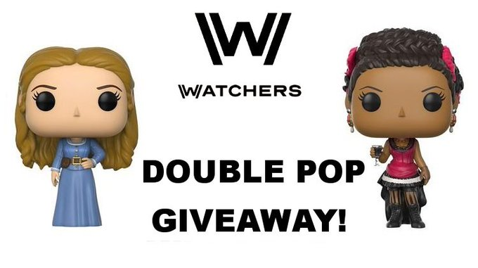 Win a Double Pack of Westworld Funko Pop! Figures