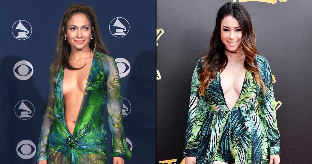 Jillian Rose Reed channels Jennifer Lopez in revealing ensemble at MTVAwards:
