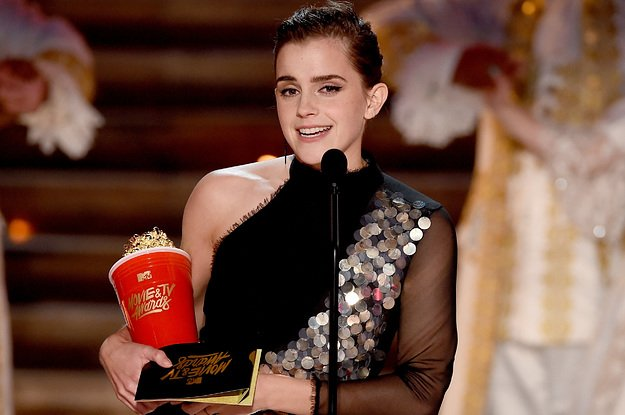 Emma Watson received the first gender-neutral acting award in awards showhistory