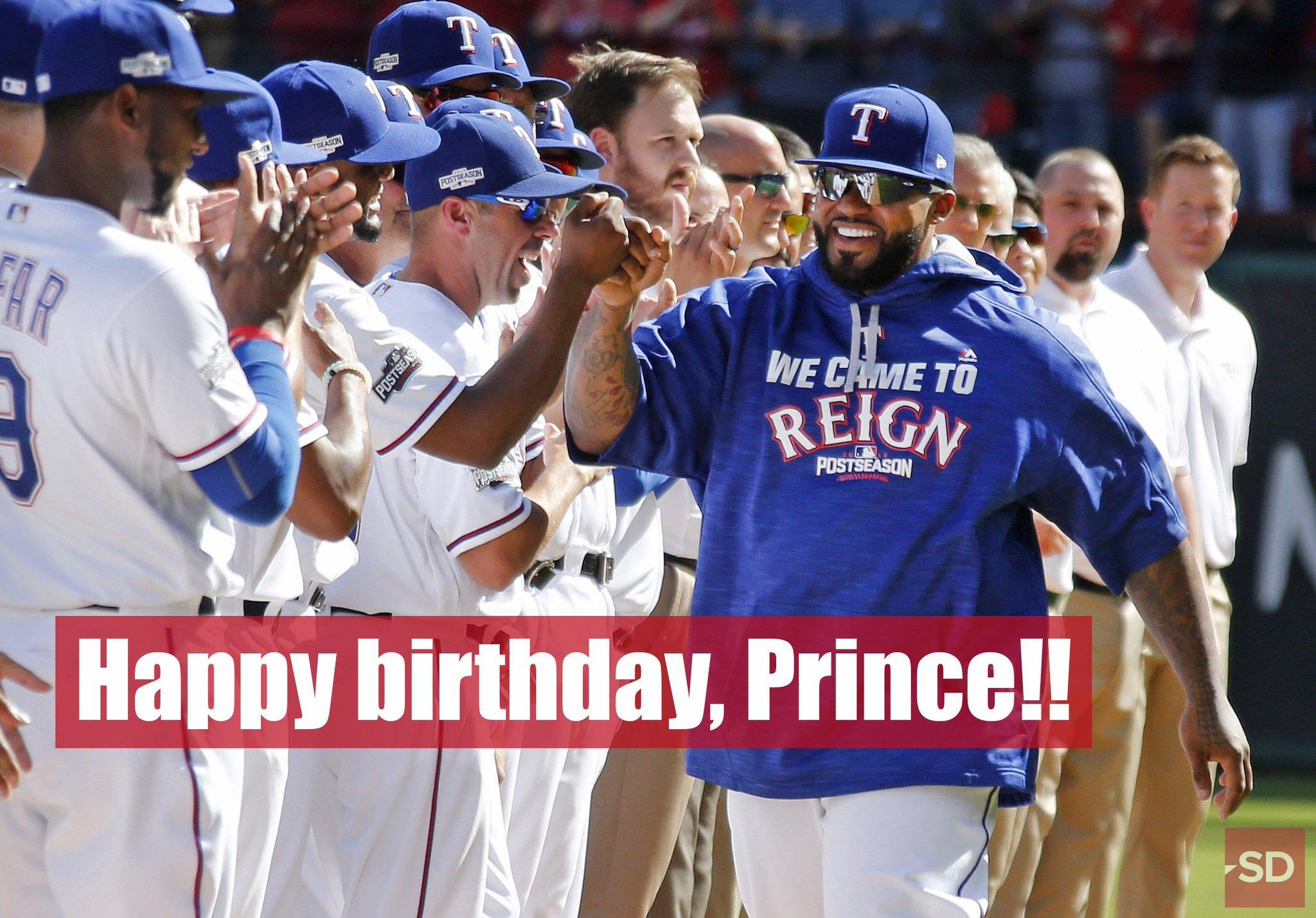 Fist bumps all around for - it\s his birthday!  Happy birthday, big man!