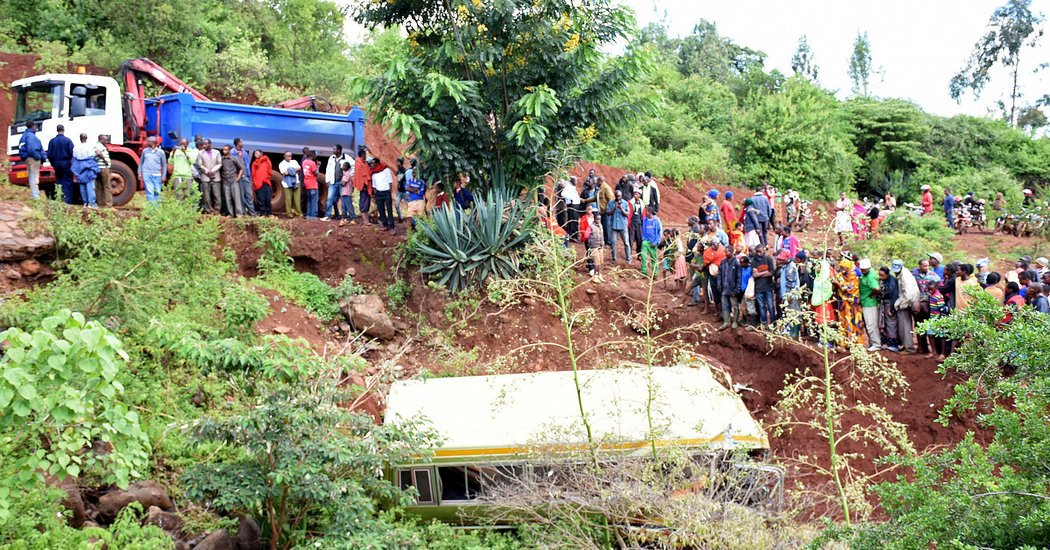 Tanzania Bus Crash Kills 35, Including 32 Schoolchildren