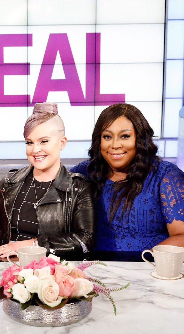 RT @LoniLove: Monday on #thereal @KellyOsbourne  guest cohosts all week!!!! https://t.co/yfDagOosDg