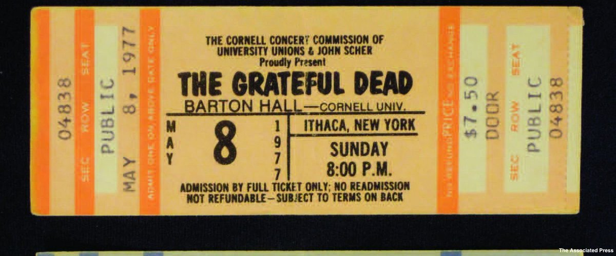 Legendary Grateful Dead show at Cornell University commemorated 40 years later.