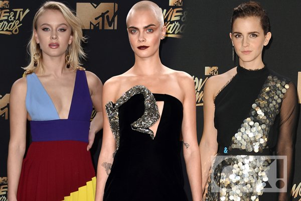 Cara Delevingne leads the way at the MTV TV and Movie Awards