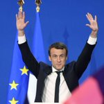 Macron win helps stocks and euro strengthen
