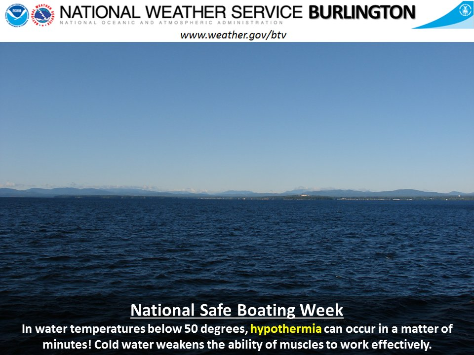 test Twitter Media - National Safe Boating Week runs from May 20-26, 2017. Be especially aware of the dangers from cold water immersion early in the season. https://t.co/DXX3AIguOR