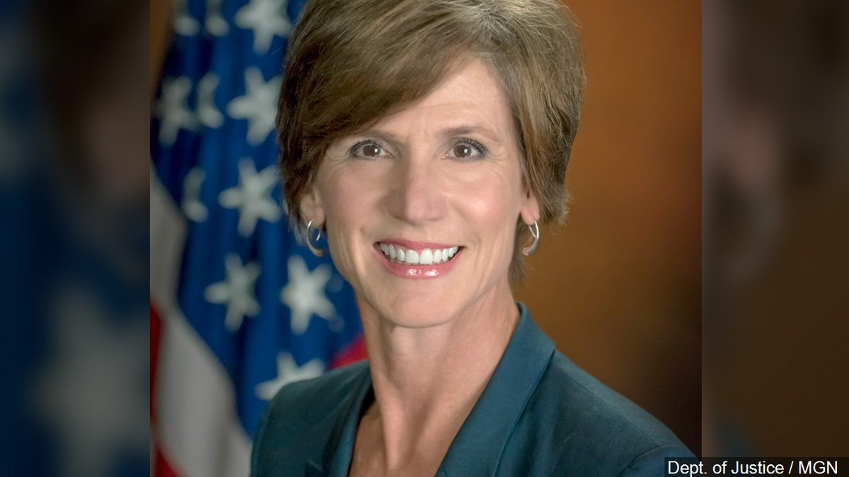 Acting attorney general fired by Trump set to testify on Russia's interference in election