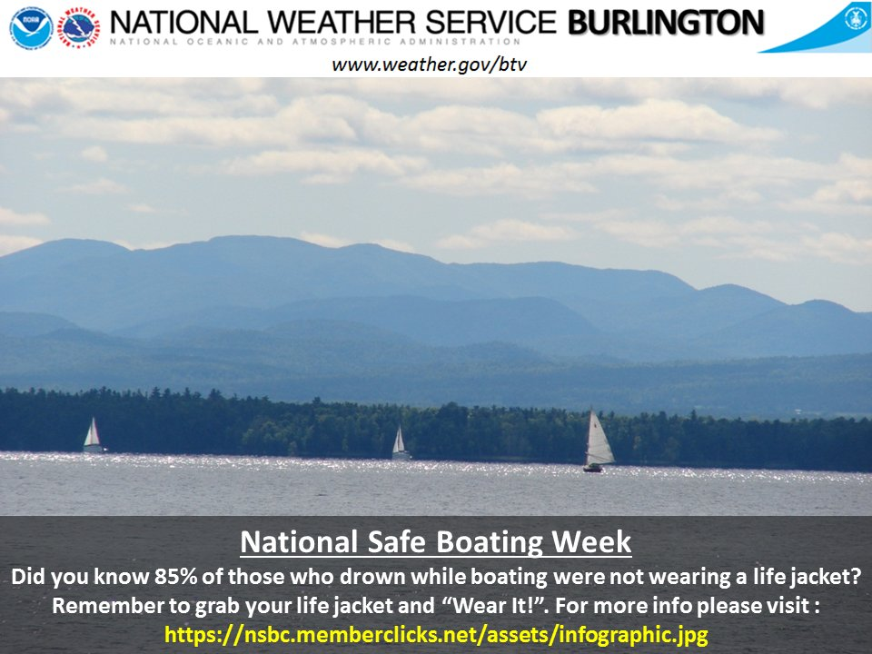 test Twitter Media - National Safe Boating Week runs from May 20-26, 2017. Are you wearing your life jacket when out on the water? https://t.co/D1TwTvyT5c