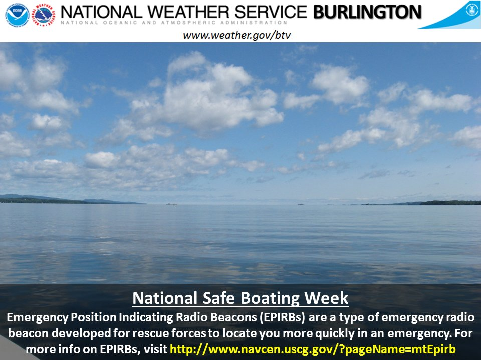 test Twitter Media - National Safe Boating Week runs from May 20-26, 2017. Do you have an EPIRB on board your water craft? https://t.co/aOCHpjHn9r