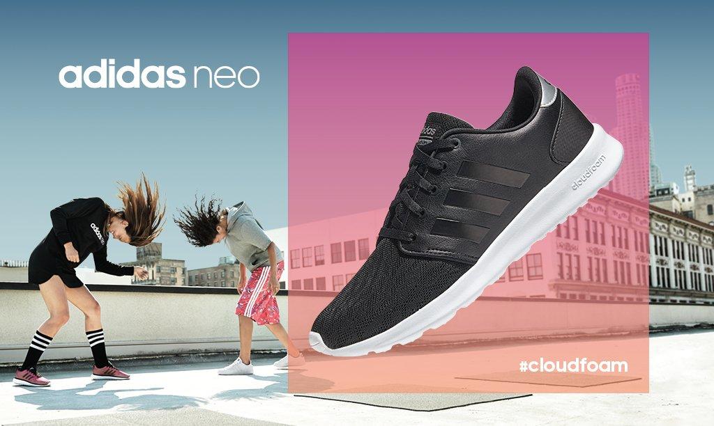 e890e2f870a it s like running on a cloud the new adidas cloudfoam qt racer women s  trainer