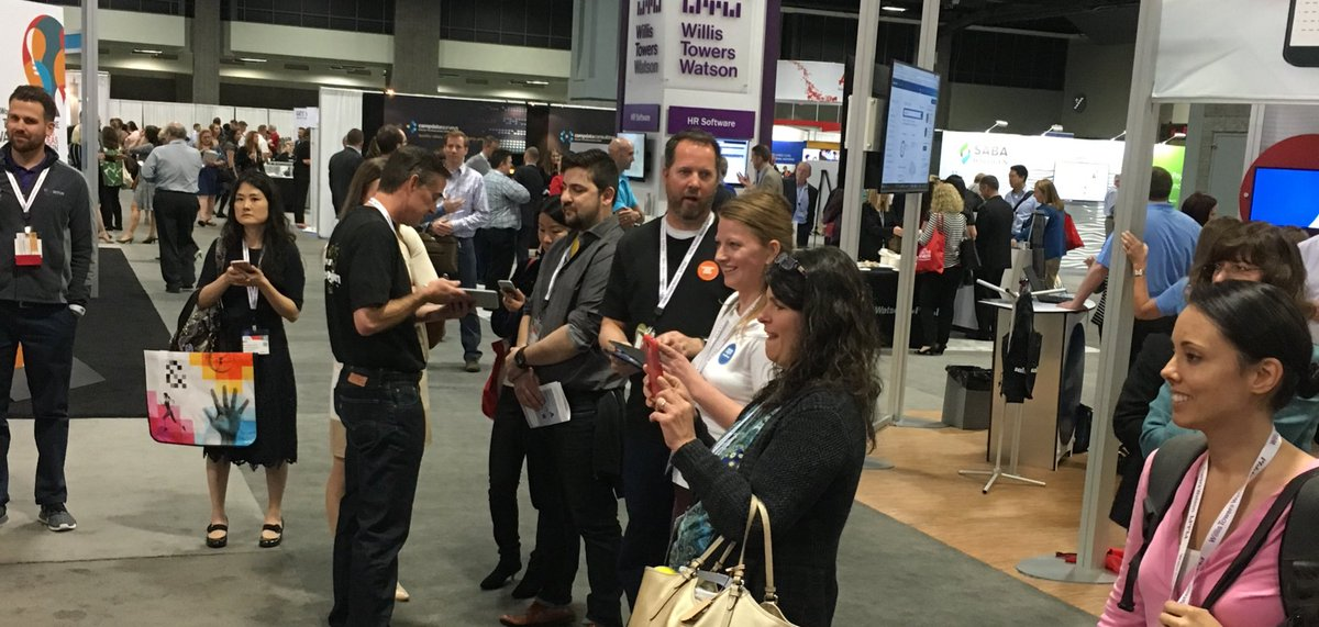 Come see what all the fuss is about at our booth! #WorldatWork #TotalRewards17 #NewRealityofRecognition https://t.co/mHAPMPuSil
