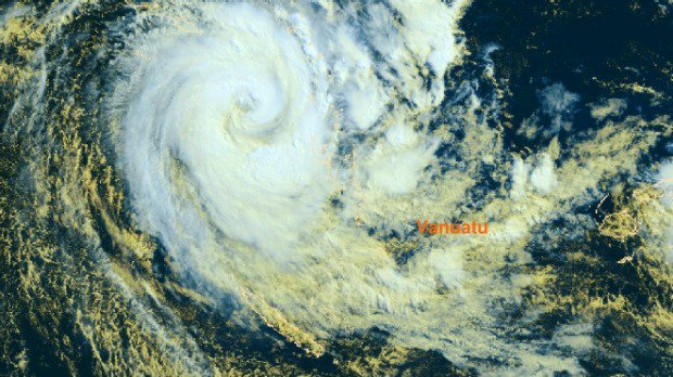 Cyclone Donna rises to Category 5, winds up to 300kmh near Vanuatu, New Caledonia