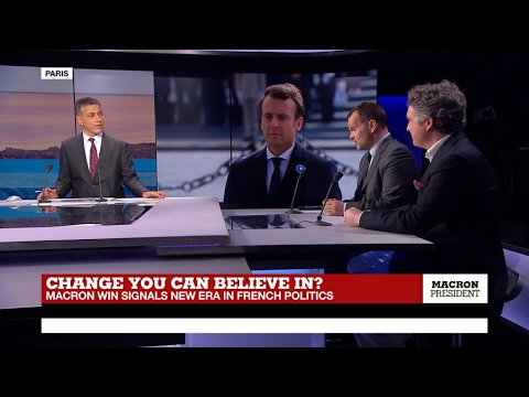 VIDEO -  Change you can believe in? Macron win signals new era in French Politics (part 1)