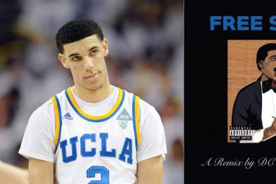 Lonzo Ball may not deserve a $495 shoe for basketball, but he sure raps like he deserves one