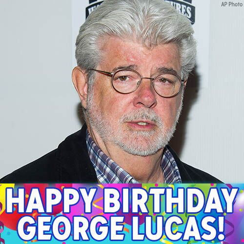 Happy Birthday to creator George Lucas!