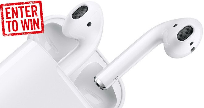 Giveaway: We're giving away a pair of Apple AirPods, enter today for a chance to win