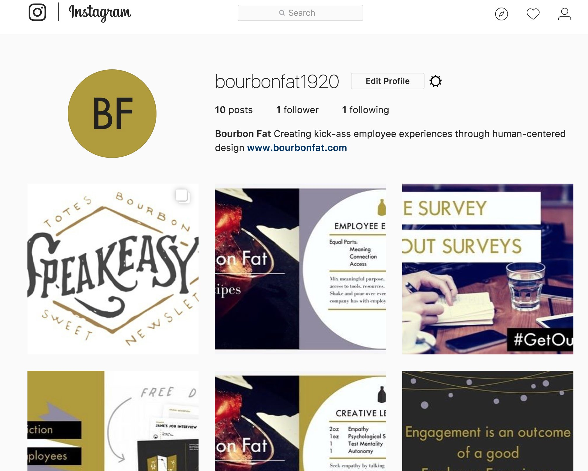 You can now follow us on Instagram!  BourbonFat1920 https://t.co/SzyHo16nlQ