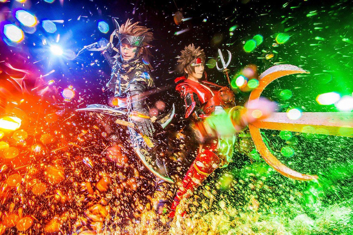 戦国BASARA/猿飛佐助→藤咲アリヤ真田幸村→せいや( )Photo:雨まこさん()Place:Studio瑞