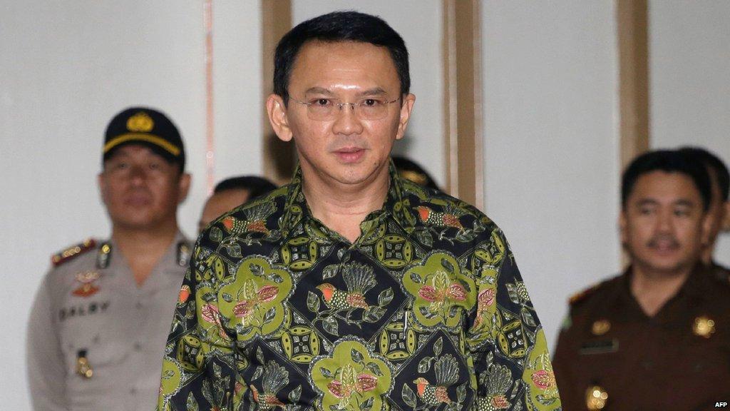 Outgoing Jakarta governor Ahok found guilty of blasphemy  https://t.co/FkK34JP2Gu https://t.co/jynMrttiGX