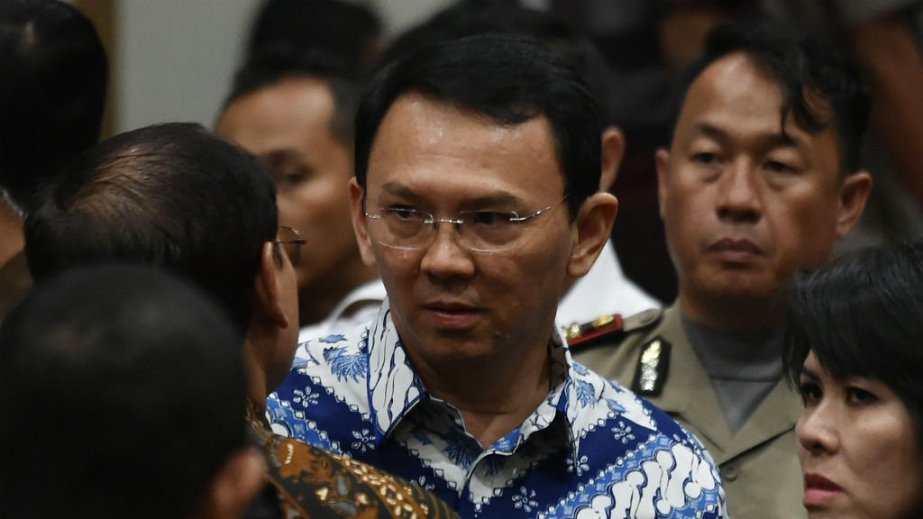 Jakarta's Christian governor handed two-year prison sentence over blasphemy