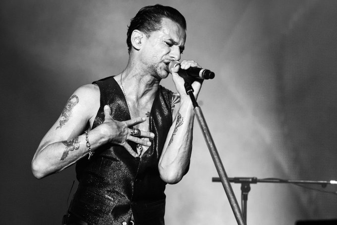 Happy Birthday to Dave Gahan from Depeche Mode! (Photo: Dana Distortion)