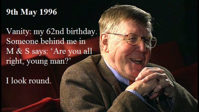 Happy Birthday to my hero Alan Bennett 83 today